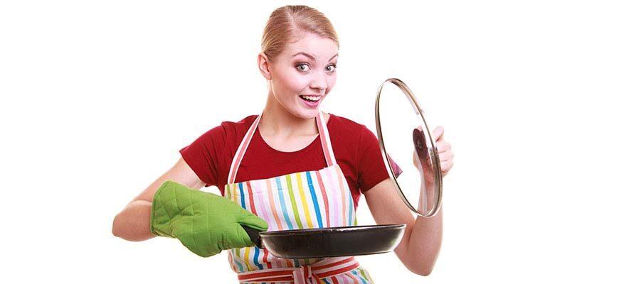 как чистить чугунную сковороду