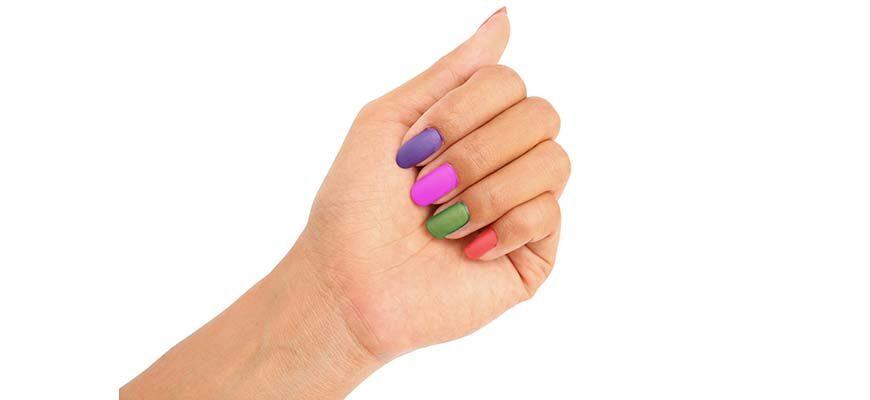 короткие красивые ногти