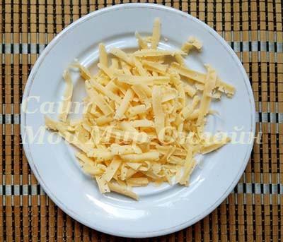 сыр на тёрке