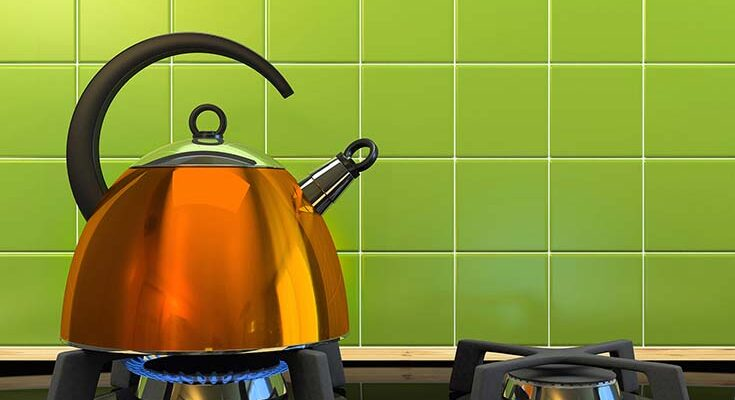 Как почистить чайник