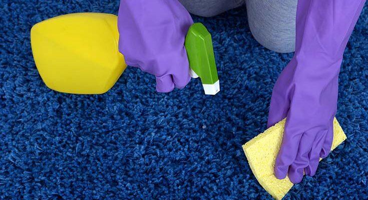 Как и чем почистить ковёр