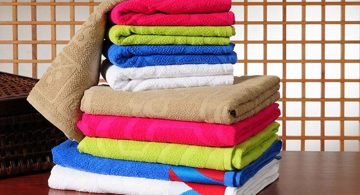 стирка полотенец
