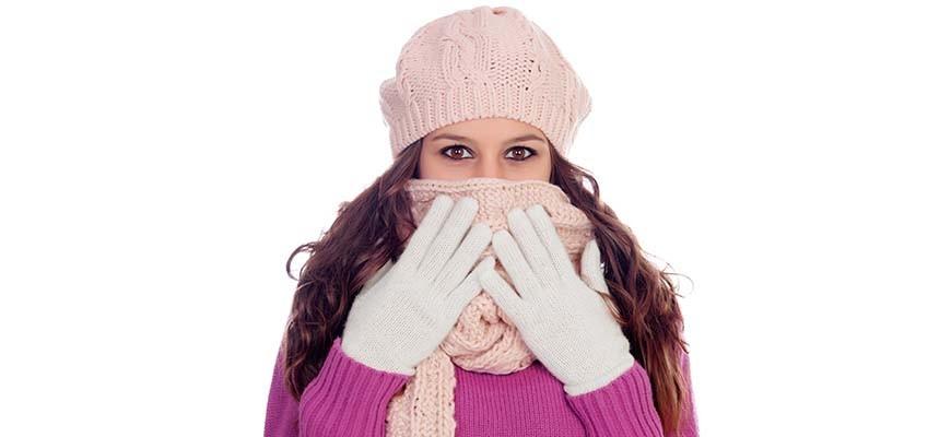 проблемы с кожей и губами зимой