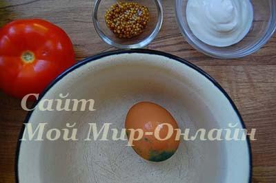 варёное яйцо в скорлупе