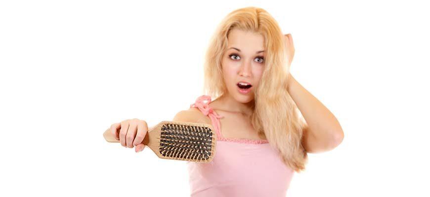 выпадения волос что делать