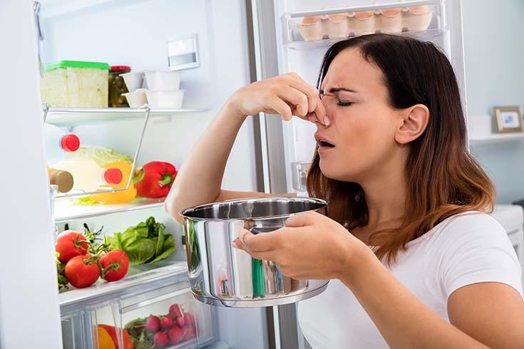 как удалить неприятный запах на кухне