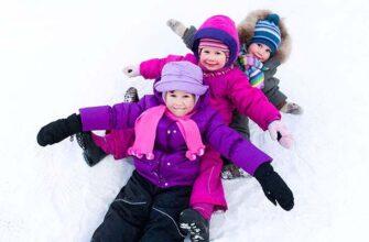 игры на улице для ребёнка зимой