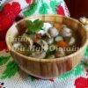 грибная похлёбка с картошкой