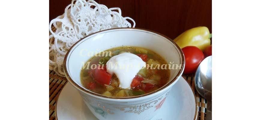 овощной суп по деревенски